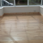 Engineered flooring and skirting fitted in Ferring