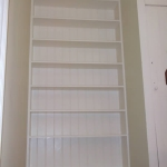 A built in bookcase fitted in Littlehampton