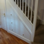 Understairs drawers