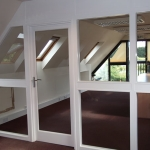 Timber & Glass Partition