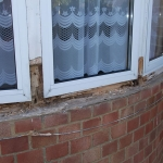 Repairing Wooden Frame and Sills
