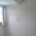 Bespoke built-in wardrobe in Angmering