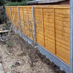 New fencing - finished