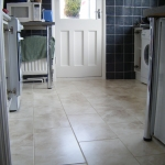 Tiling in a kitchen