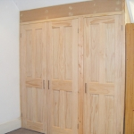 Bespoke built-in wardrobe in Worthing